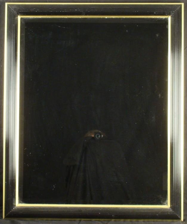 Bombay Company 24x30 Black Gold Art Deco Wall Mirror
