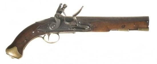 Beautiful Flintlock Pistol marked ~D. Egg~