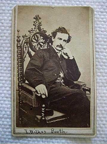 ONE OF A KIND Original CDV ~carte de visite~of John Wil