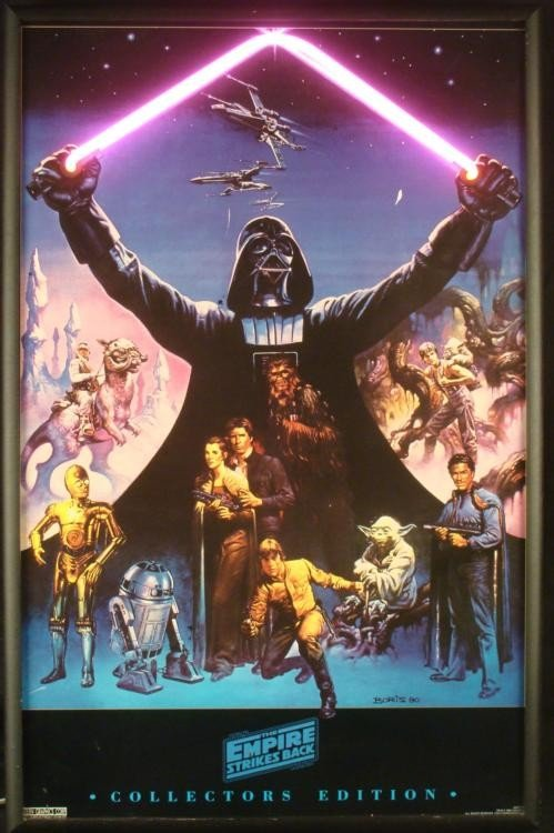 Empire Strikes Back Collectors Ed. Custom Neon Poster