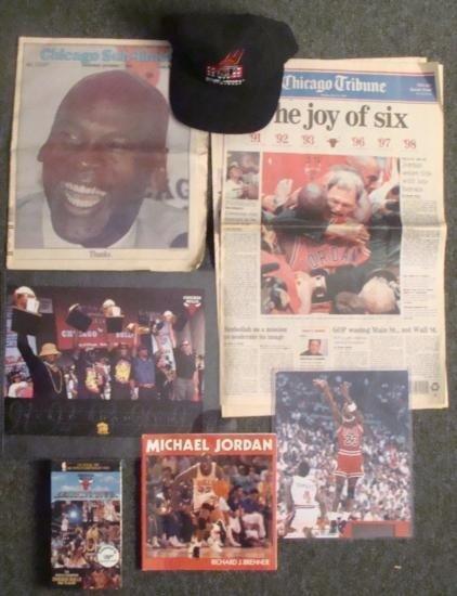 Chicago Bulls Basketball Michael Jordan NBA Lot