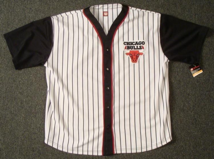 d7deb4297 ... uk chicago bulls baseball style warmup jersey xxl like new 7c85f eeee6