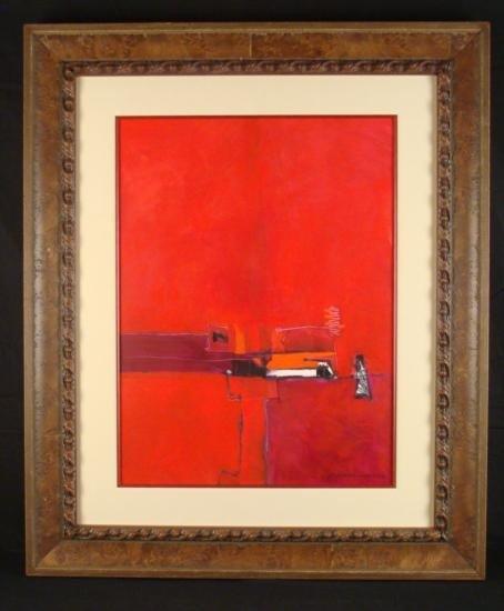 Cecilia Garcia Amaro Original Abstract Painting/Drawing