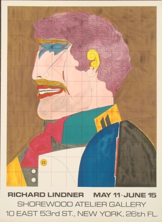 Richard Lindner : Shorewood Exhibition Art Print