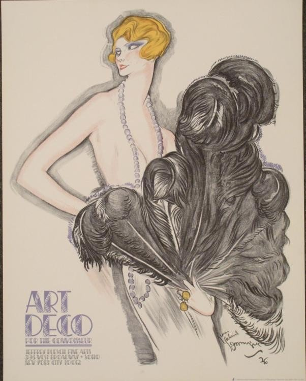 Jean-Gabriel Domergue : Alice Soulie, Art Print 1926