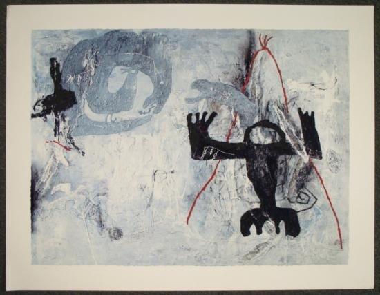 Zhou Brothers Giclee Abstract Art Print  Human Symbol