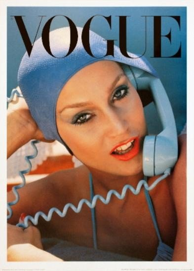 Vogue May 1975 Cover Poster