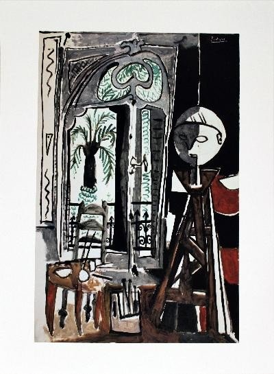Picasso L'Atelier Poster