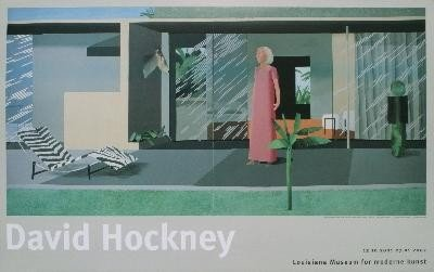 Hockney Beverly Hills Housewife Poster