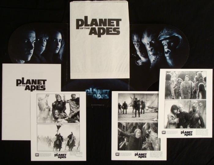 Planet of the Apes Original Movie  Press Kit w/ Photos