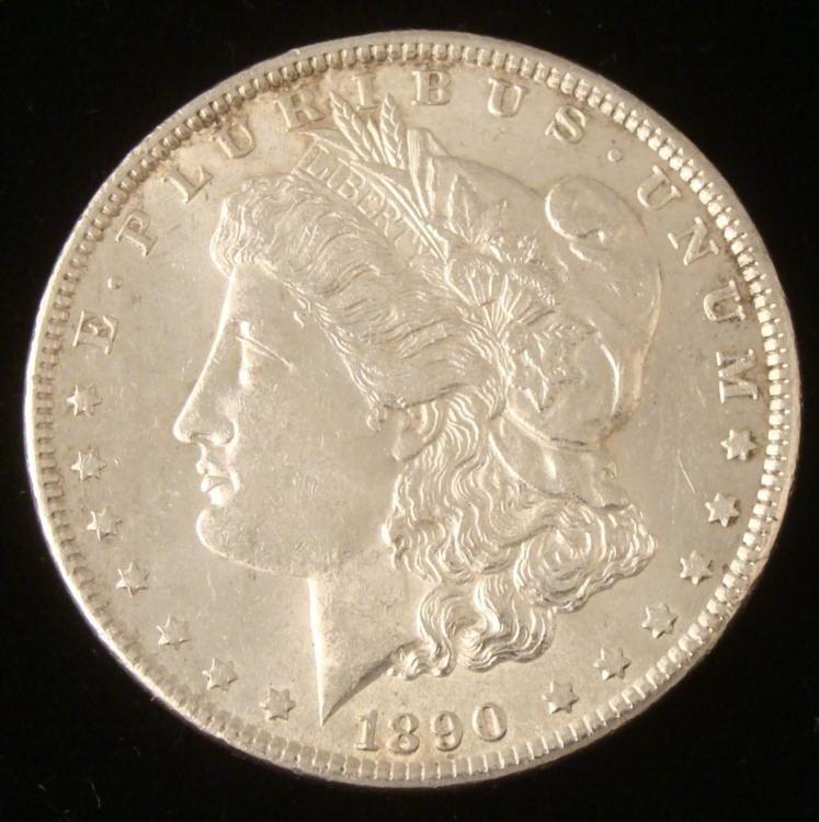 Very High Grade 1890 Morgan Silver Dollar -Great Coin