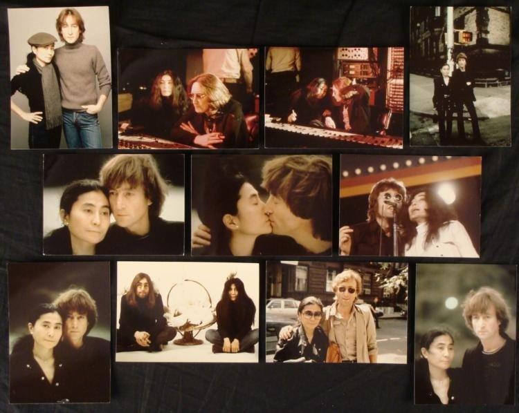 11 John Lennon & Yoko Ono 5x7 Photos 2nd Generation