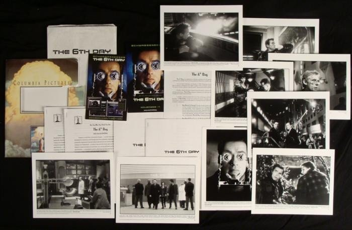 The 6th Day Press Kit w/ Govenor Arnold Schwarzenegger