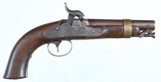USN Model 1844 Boxlock percussion pistol by Ames