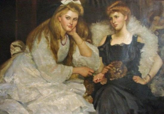 OIL ON CANVAS - ~Sisters~