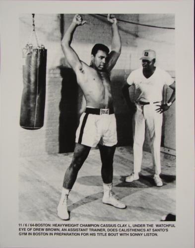 Muhammad Ali Cassius Clay Sonny Liston Boxing Photo