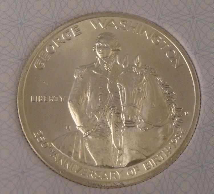 1982-D Washington Half Dollar MS65 Certified AACGS