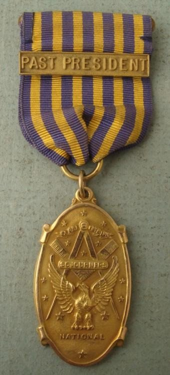 1935 PAST PRESIDENT'S NATIONAL SOJOURNERS MEDAL