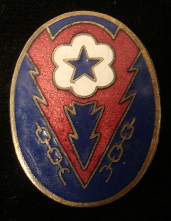 ORIGINAL WWII ETO/EUROPEAN THEATRE OF OPERATIONS PIN