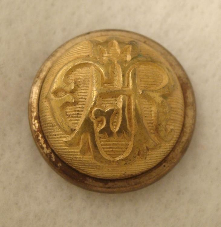 GAR Civil War Veteran Coat Button