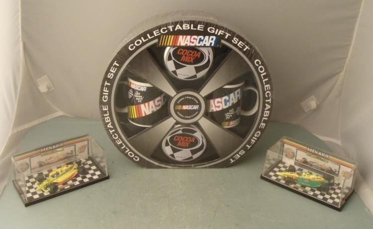 2 Lola Menard Indie 500 & Nascar Collectable Gift Set