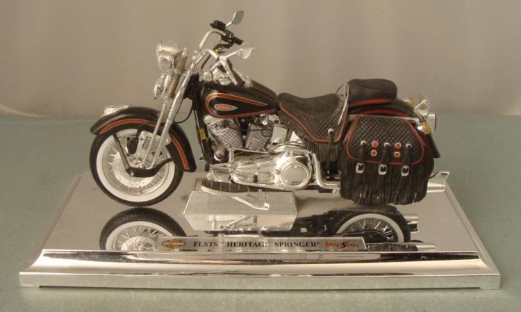 FLSTS Heritage Springer Maisto Harley Davidson Motor