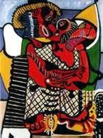 The Embrace By Picasso Numbered Giclee 20x26 On Canvas