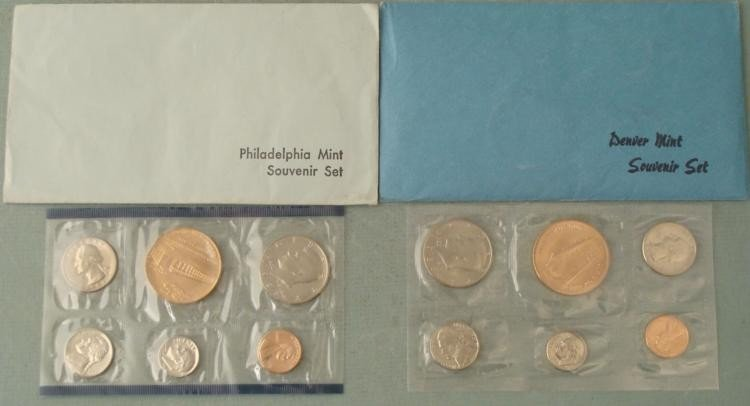 1983-P & D UNC 12 Pc US Mint Special Souvenir Set