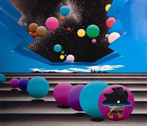 Stan Solomon Abstract Art Print IN THE BEGINNING