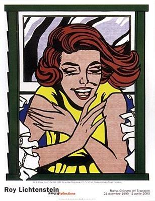 Roy Lichtenstein : Girl at Window Art Print
