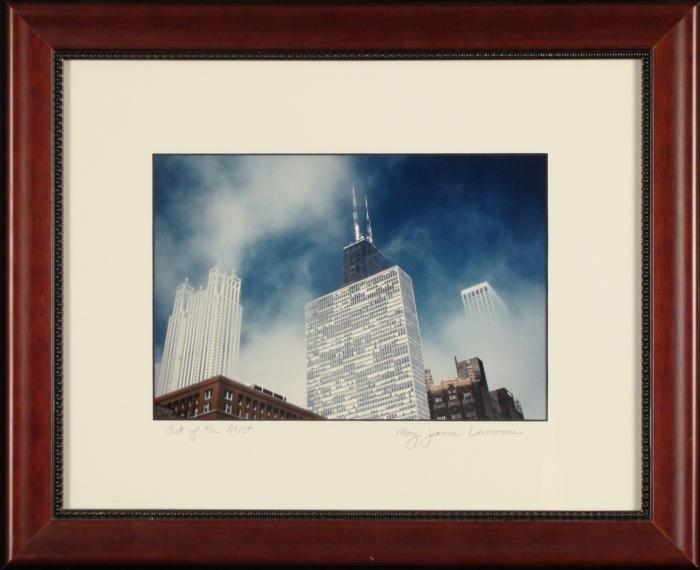 Mary Jeanne Lawrence Chicago Skyline Photograph Framed