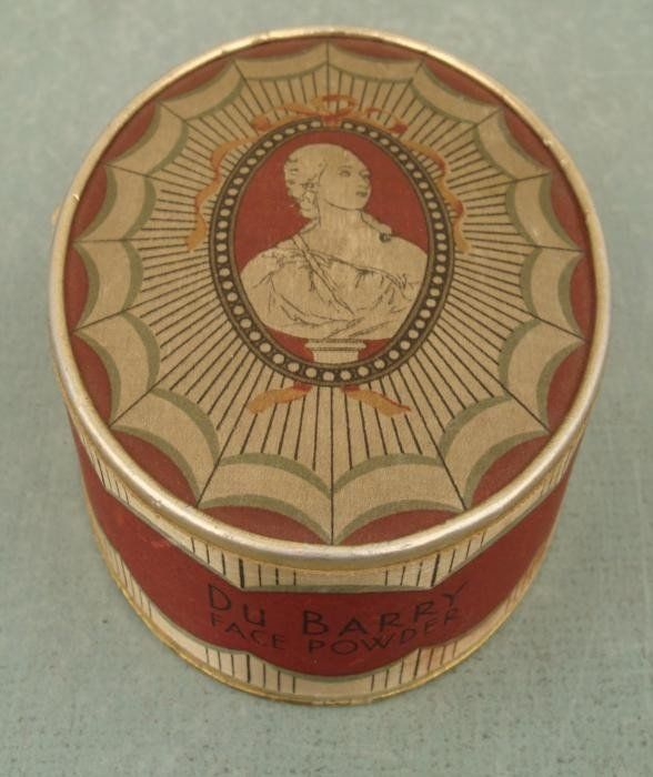 Richard Hudnut Vintage Du Barry Face Powder Box 1938