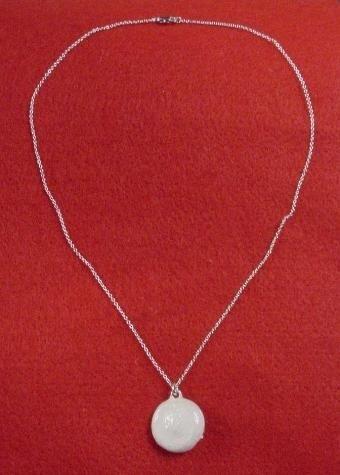 Marilyn Monroe Silver Pendant Rhinestone Hat Necklace