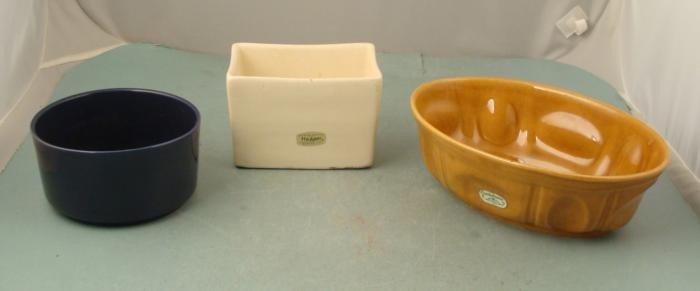 3 Vintage Haeger Pottery Bowls Gardenhouse 3929, 3878