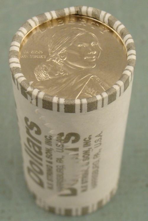 1 Roll (25) of 2010-D Sacagawea Dollar Coins GEM UNC