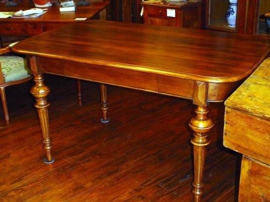 French table with 1 drawer circa 1860