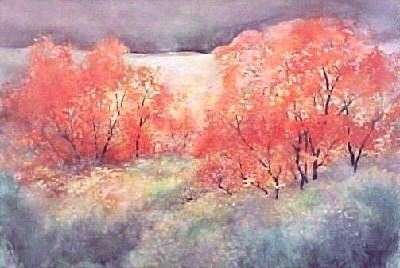 Fall Trees by Welsh