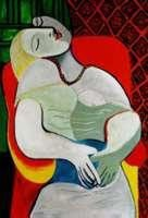 The Dream by Picasso Giclee Numbered 20x26 Canvas