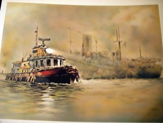 The Tug Boat by John Kelly