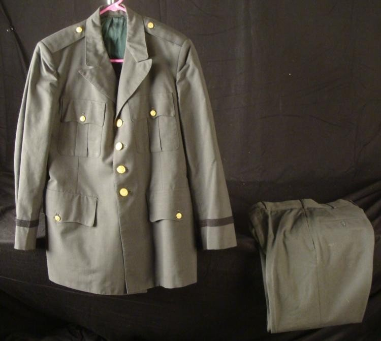 Vietnam War Army Enlisted Mans Pants and Jacket Sz 42 R