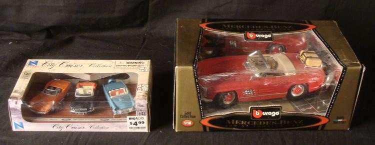 MIB Mercedes-Benz 300 SL 1957 City Cruiser Collection