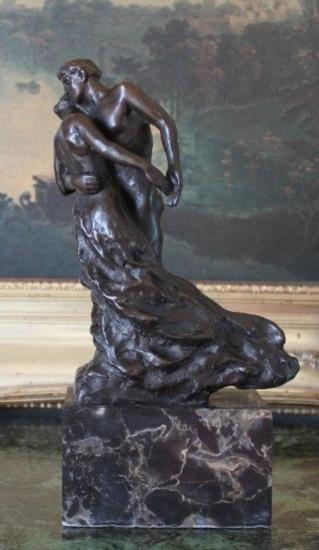 Stunning Dancers Bronze Sculpture After Claudel