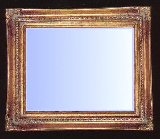 Traditional gold gilt Mirror