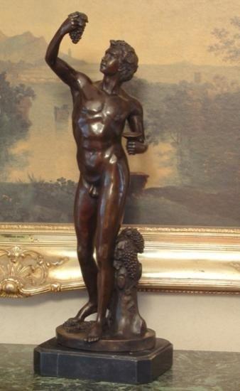 Magnificent Bronze Sculpture Bacchus