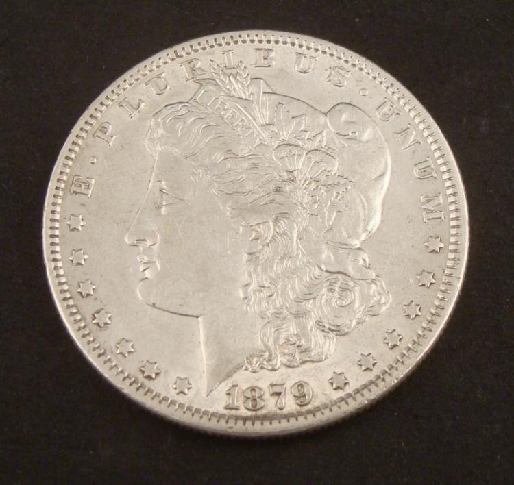1879 Morgan Silver Dollar -Very Nice Coin
