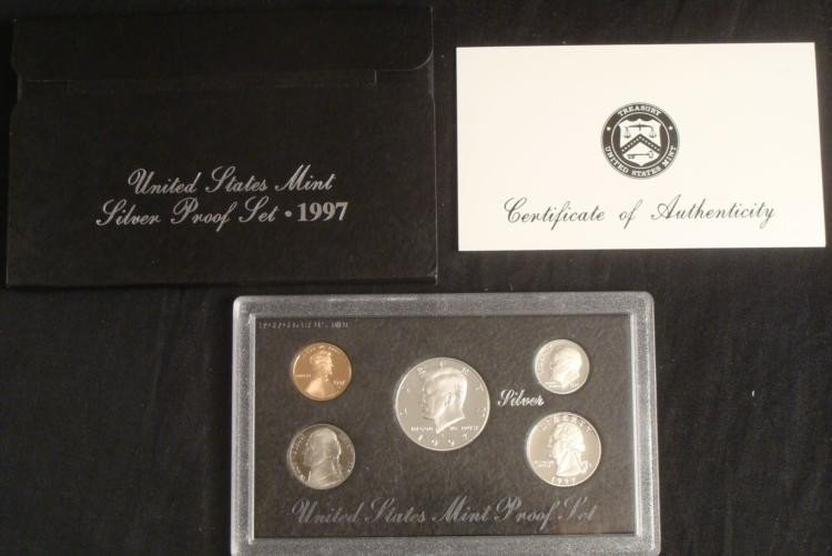 1997 US Silver Mint Proof Set United States