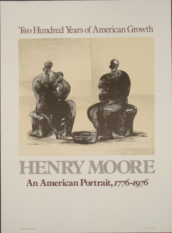 Henry Moore : An American Portrait Exhibition Art Print