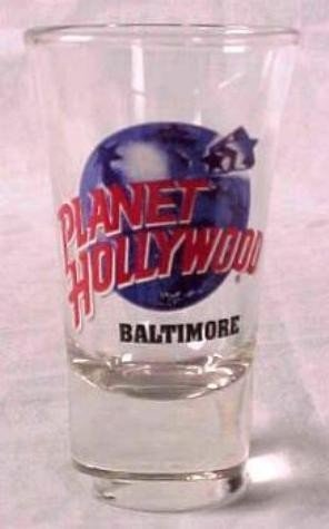 Planet Hollywood BALTIMORE Shot Glass Case of 144 MIB