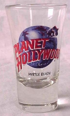 Planet Hollywood MYRTLE BEACH Shot Glass Case 144 - 2