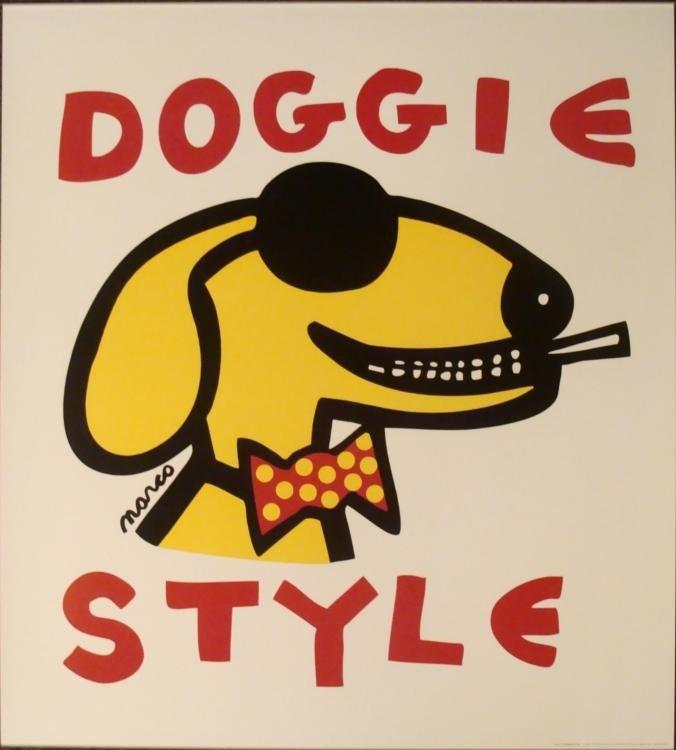 Peter Marco : Doggie Style Art Print